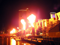 Crown Casino Fire-show
