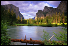 Valley View - Yosemite (Buck Forester) Tags: california film nature beautiful beauty river landscape waterfall nationalpark fuji view meadow merced sierra velvia waterfalls valley yosemite rivers kqed yosemitenationalpark sierras bridalveil elcapitan sierranevada bridalveilfalls valleyview yosemitevalley mercedriver elcap velvia50 yosemitewaterfalls beautifulplace buckforester brianernst earthshots beautifulspots ypoq sierravisions sierravision valleyviewyosemite galenrowellgnd