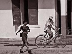 The oldest job in the world (Délirante bestiole [la poésie des goupils]) Tags: bw work blackwhite prostitution sexual madagascar tourisme noirblanc saintemarie