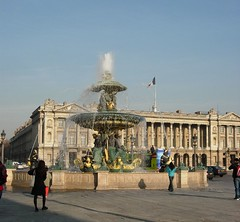 Fountain at the Place de la Concorde (Monceau) Tags: fountain placedelaconcorde