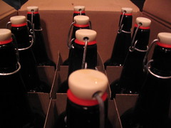 12 Liters (seanmasn) Tags: beer austin amber texas bottles box cardboard clone homebrew homebrewing fattire 12liters 3gallons