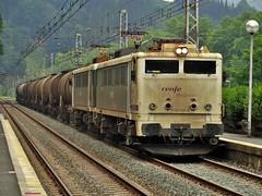 289 (firedmanager) Tags: train tren imperial mitsubishi locomotora ferrocarril renfe trena gipuzkoa 289 legorreta nacco tándem renfemercancías