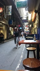 Cowgirl in Centre Place, Melbourne (avlxyz) Tags: alley fb melbourne lane laneway centreplace