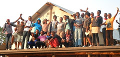 Orphaned & vulnerable kids from Moya Centre, August 2012