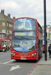 GAL WHV10 - LJ61GXH - NEW CROSS GATE - TUE 16TH JUNE 2015 (Bexleybus) Tags: new london ahead volvo gate cross go route hybrid gemini tfl 436 wrightbus whv10 lj61gxh