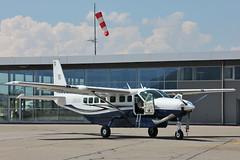 Cessna 208B Caravan N583EX Private (mm-photoart) Tags: private bern caravan cessna brn belp 208b belpmoos lszb n583ex