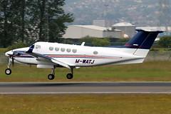 M-WATJ_01 (GH@BHD) Tags: corporate aircraft aviation beechcraft executive beech turboprop kingair b200 superkingair bhd belfastcityairport bizprop b200gt saxonhenge mwatj