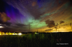 Aurora--June 22, 2015 (littlestbee) Tags: summer adirondacks astrophotography aurora astronomy newyorkstate nightsky plattsburgh northernlights auroraborealis beekmantown adirondackcoast