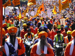 Khalistan Sikh Freedom & 1984 Remembrance Rally, London, June 2015 (PaChambers) Tags: uk summer london rally protest piccadilly 1984 sikh 2015 khalistan