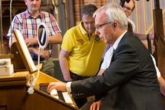 Masterclass Jaap Zwart, St.-Agathakerk, Lisse, 6 juni 2015. Foto: Alexander Schippers.