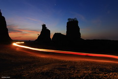 Light Trails of Sunset (azizidoel) Tags: sunset landscape