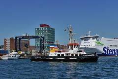P1990446 (Lumixfan68) Tags: port und ships hafen kiel schiffe schlepp sfk falckenstein hafenschlepper fhrgesellschaft