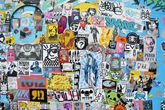 stickercombo (wojofoto) Tags: streetart amsterdam stickerart stickers ndsm stickercombo wojo wolfgangjosten wojofoto