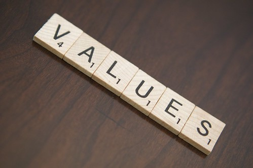 Values, From FlickrPhotos