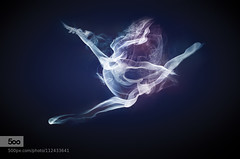 smoke dancer (波希米亚) Tags: blue light red white abstract black color sexy art girl beautiful beauty fashion modern female flow amazing jump model energy dancing vibrant background dancer concept colourful effect leap 500px ifttt