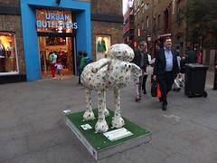 Cath Kidston Shaun the Sheep (3) (Phil Masters) Tags: sculpture london shaun cathkidston shaunthesheep 16thapril pleasedonotclimb april2015 cathkidstonsheep cathkidstonshaun cathkidstonshaunthesheep