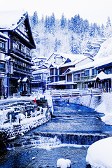 銀山温泉 (Koji_Huang) Tags: winter snow japan 日本 hotspring 雪 冬 zao 溫泉 温泉 藏王 蔵王