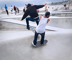 Venice Skate Park 15 by Ginger Liu #Photography (GINGER LIU PHOTOGRAPHY) Tags: ocean california park santa street travel venice summer vacation sky urban usa white holiday seascape black art beach boys fashion basketball sport kids youth canon ball underground landscape photography us losangeles seaside los boards sand freestyle skateboarding angeles documentary angles free lifestyle adventure part monica skate skateboard northamerica southerncalifornia hoops santamonicabeach allstars styling