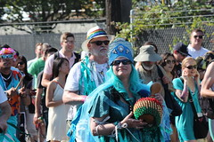 Gourd Player (Chicago John) Tags: seattle fair fremont parade solstice 2015 fremontfair