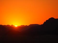 Sunset, Wadi Rum, Jordan!