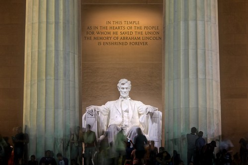 Lincoln at the Memorial