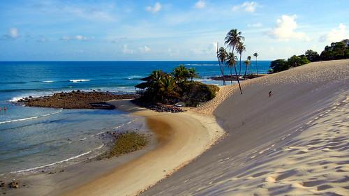 Praia de Genipabu. Extremoz, RN