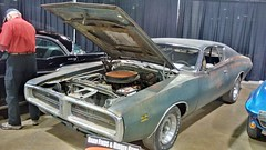 '71 Dodge Charger Barn Find (artistmac) Tags: chicago il illinois mcacn musclecarandcorvettenationals carshow rosemont musclecar auto car automobile v8 barnfind barn find dusty old