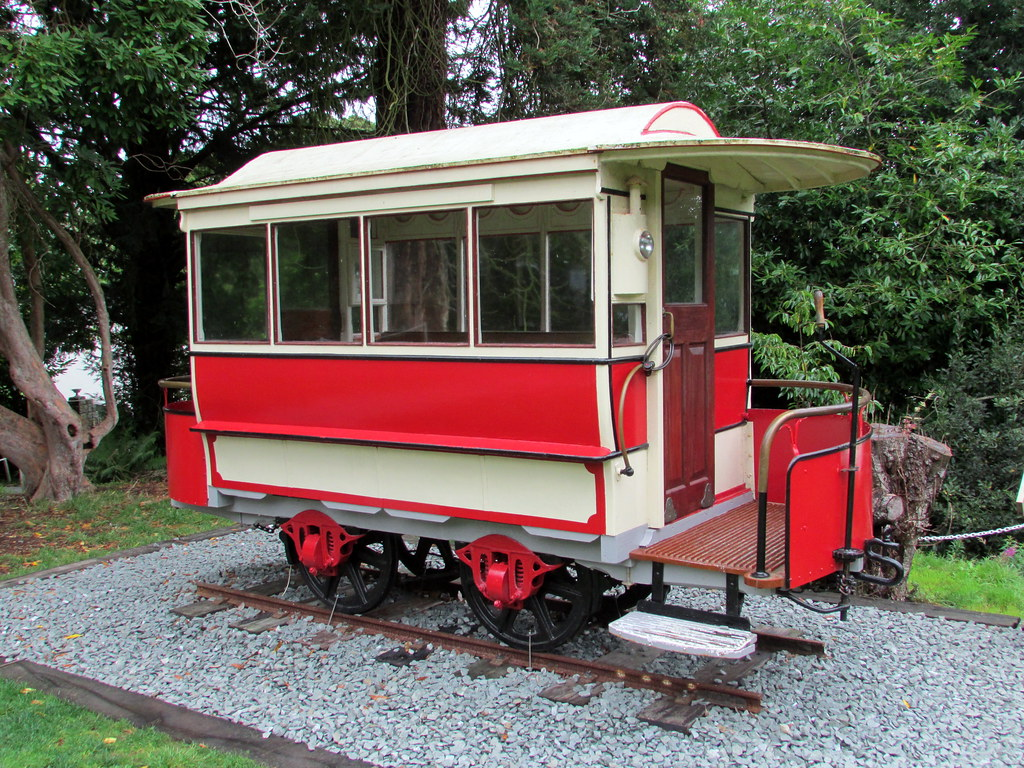 Tram Car from  the Pwllheli and Llanbedrog Tramway