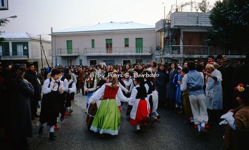 Frigento (AV), 1972, Carnevale.