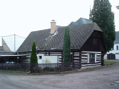 Sobotka, Favázas ház