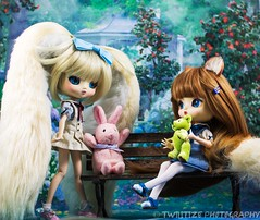 Girls will be Girls (twilitize) Tags: adorable adventure art awesome beautiful beauty cool cute canon cutie camera canonphotography dolls doll dolly dollphotography darling daring blackberry pullip pop popular pullips pullipphotography playtime photography girl girls girly good groove