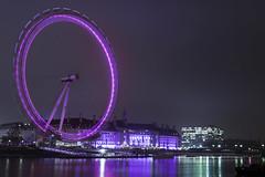 Late night London (355/366) (AdaMoorePhotography) Tags: london night nikon nighttime nightscape light purple d7200 18105mm