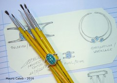 Scarab and silver ring (Mauro Cateb) Tags: scarab silver ring jewel jewelrydesign drawing