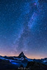 """way to heaven"" (nelly_tran_photography) Tags: christanbuchs davidemaligno gornergrat matterhorn milkyway zermatt"