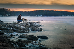 Karen and Casey.jpg (elektratig) Tags: swartswood lakeswartswood sunset stillwater sussexcounty newjersey