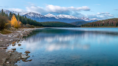 Patricia (Kirk Lougheed) Tags: alberta canada canadian canadianrockies canadien jasper jaspernationalpark patricialake autumn fall lake landscape morning mountain nationalpark outdoor water