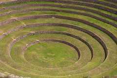 Green Circles (leo_phel) Tags: dsc6422 green circles inca historic grün kreise kreis circle gras wiese archäologie inka inkas archaeology archeology stone wall outdoor scenic beautiful concentric stunning awesome abstract abstrakt