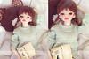 Sunny days (Antique bag // Inesu_1) Tags: doll bjd dollclothes dollphotography dim dollmakeup