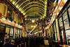 Leadenhall Christmas I (Douguerreotype) Tags: candid london people market ceiling uk christmas british roof street architecture city crowd britain night pub gb urban england