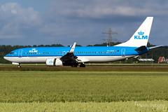 KLM Royal Dutch Airlines Boeing 737-8K2     PH-BXN     Amsterdam Schiphol - EHAM (Melvin Debono) Tags: klm royal dutch airlines boeing 7378k2   phbxn amsterdam schiphol eham melvin debono spotting canon 7d 600d plane planes polderbaan airport airplane aviation aircraft netherlands holland