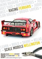 Scale Models Wellington - Racing Ferrarris