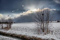 Rückkehr der Sonne (jmwill2005) Tags: hdr gültstein herrenberg schnee wolken himmel ammer ammertal winter