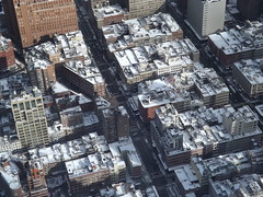 Aerial View, Snow View, Lower Manhattan, Tribeca, One World Observatory, World Trade Center Observation Deck, New York City (lensepix) Tags: aerialview snowview oneworldobservatory worldtradecenterobservationdeck newyorkcity observationdeck tribeca lowermanhatan lowermanhattan