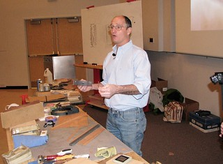 """Veneering and Joinery"" Marc Adams February,2017 Newsletter"