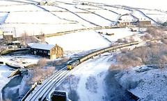 Deltic in the snow (delticfan) Tags: 55009 alycidon class55 marsden standedgetunnel deltic napier snow