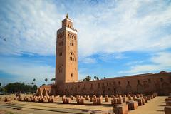 MircK - Koutoubia Mosque (imNOTaPh) Tags: koutoubia mosque koutoubiamosque kutubiyya marrakech morocco minaret africa sky roadtrip travel travelphotography nikon d3100 mirck tower