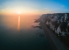 Up in the sky (xDiscobobx) Tags: drones folkestone drone landscape dji mavicpro droneoftheday dronestagram flying fpv quadcopter aerial aerialphotography samphirehoe dronegear