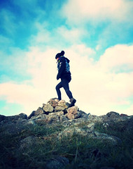 tumblr_o19iqq8NLF1qifvizo1_500 (hollyfreyja) Tags: dartmoorr monolithic pentax k50 nature devon england hiking moorland wilderness tors dartmoor national park river bellever forest