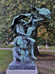 Diana And Endymion (ArtFan70) Tags: dianaandendymion diana endymion valdosne dosne lindenplace bristol rhodeisland ri newengland unitedstates usa america art statues moongoddess goddess greekmythology greekmyth mythology myth nude nudity naked sleep sleeping