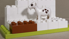 Goat (N.the.Kudzu) Tags: home toy lego duplo goat canonsl1